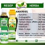 Jual Resep Herba Amandel HNI HPAI di Bandung, WA: 081350833476
