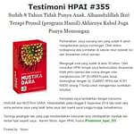 Jual Mustika Dara Asli di Bandung – Hub. 082216902775 Agen Stokis HNI Bandung