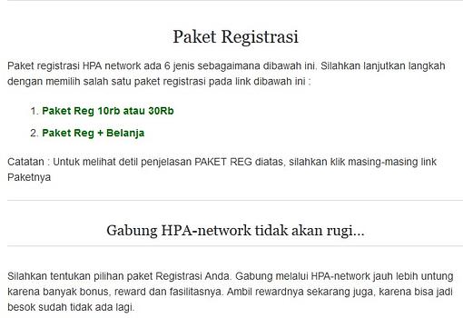 Cara Mendaftar Menjadi Agen HNI HPAI di hpa-network.com5